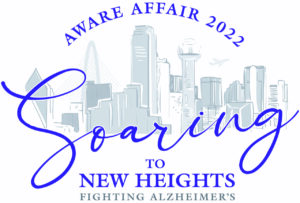 AWARE - Soaring to New Heights logo color